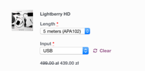 Lightberry HD purchase Options