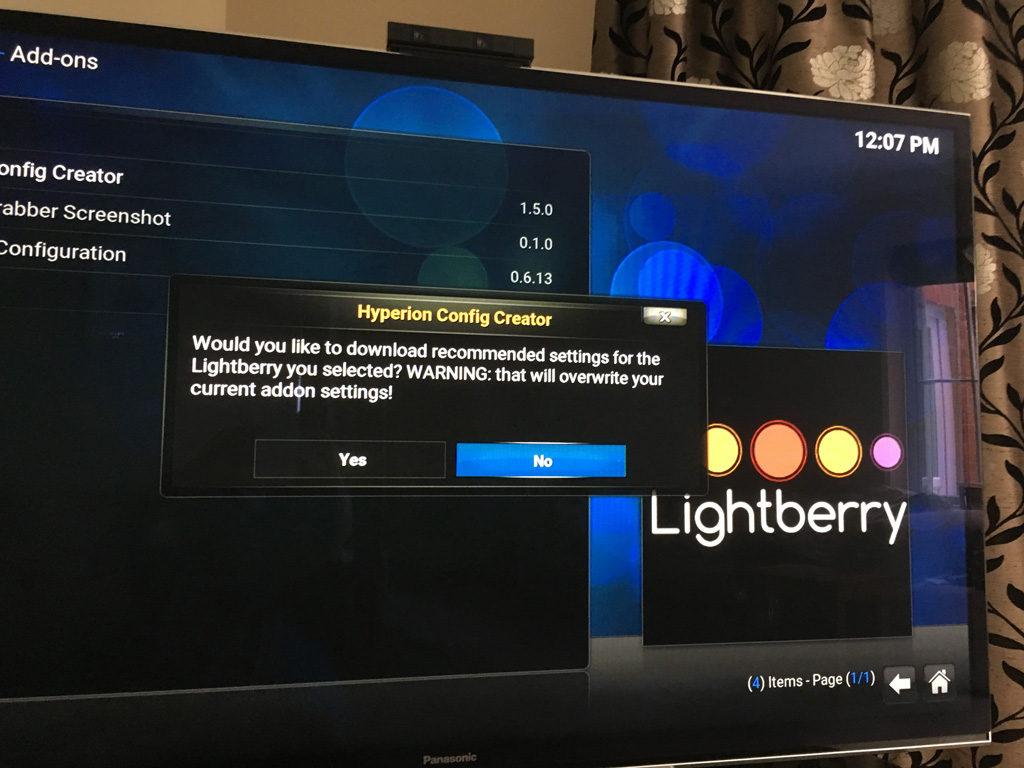 Hypercon download settings